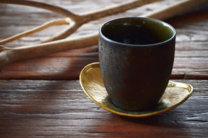 ICHI CHATAKU 真鍮、銅製の茶托
